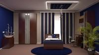 3d max interior design bedrooms