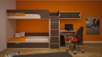 Interior child bedroom