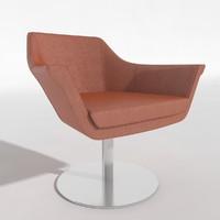 3d model chair duno