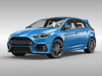 3d model focus rs 2016