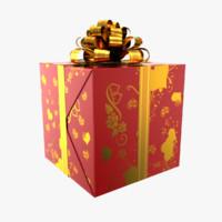 3ds max gift box
