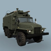 ural-375a command vehicle max