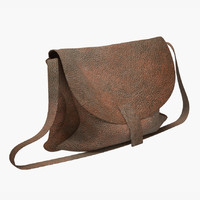 leather bag 3d max