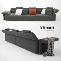 Minotti Collar Sofa 01