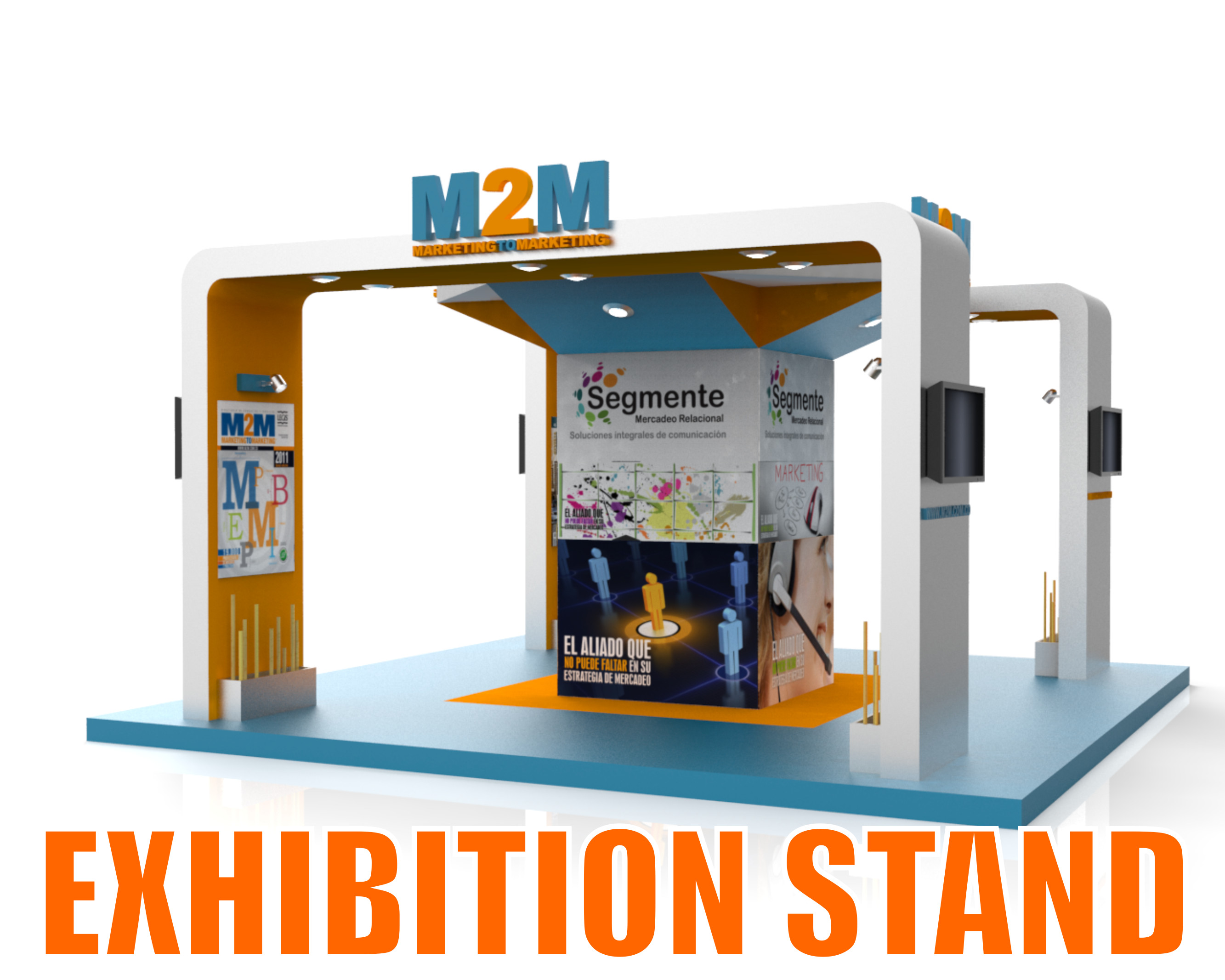 Exhibition Stand 3d Model Sketchup : D model exhibition stand