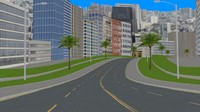 3d circle city