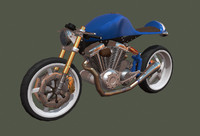 3ds max concept motorcycle
