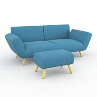 3d model dr op sofa leolux