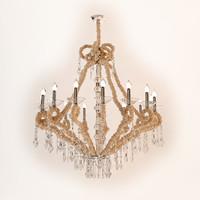 visionnaire aslan chandelier 3d model