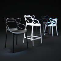 3d model masters-chair