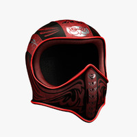 3ds max owl helmet concept