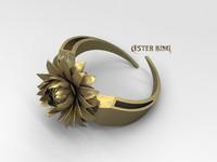 aster ring stl 3d model