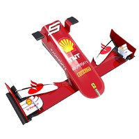 3ds realistic sf15-t details nose