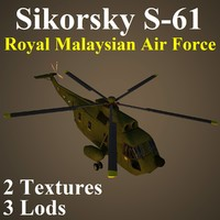 sikorsky rmf helicopter 3d max