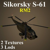 sikorsky rm2 helicopter 3d model