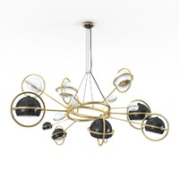 cosmo suspension lamp 3d model