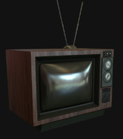 Old TV-set