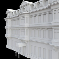vintage building 3d 3ds