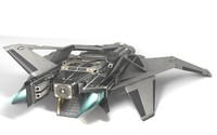 3d spaceship ship space