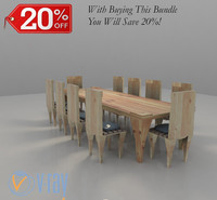 Chairs And Table Bundle