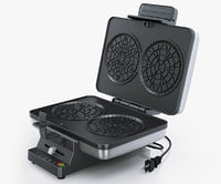 3d model cuisinart pz2 pizzelle press