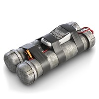 maya tube bomb remote controlled