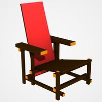 3ds chair lightwave