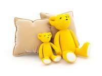 teddy bear soft toy 3d model