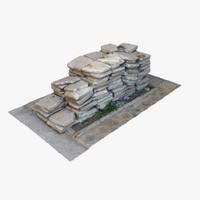 3ds max pile tiles