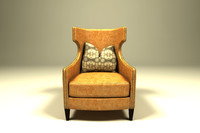 3ds wing chair