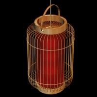 3ds max lighting lantern chinese