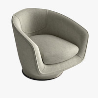 maya u-turn swivel chair armchair