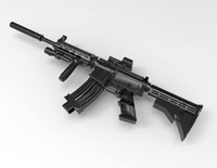 Modded M4A1 Rifle
