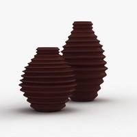 maya modern vases