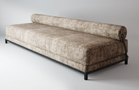 3d model ethnic sleeper sofa