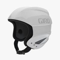 3d model of giro sestriere helmet white