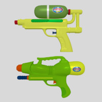 water guns 3d 3ds