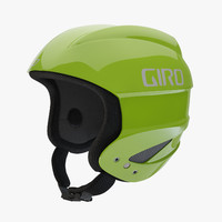 3d model giro sestriere helmet green