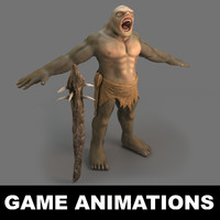 troll monster 3d max