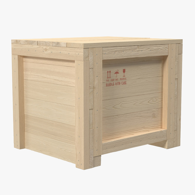 Wooden Shipping Crate 3d model 01.jpg