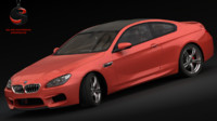 3d max bmw m6 coupe 2015