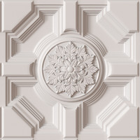 3d decorative ceiling tile model