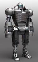 3d obj robot bot