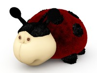 lady bug toy 3d model