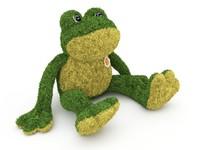 3d model frog soft toy