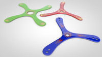 3d competition boomerangs