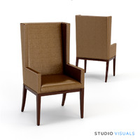 3d model of armchair 01