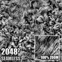 High Definition Seamless Tileable Fur