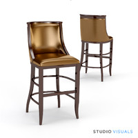 bar stool 02 3d max