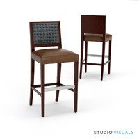 3d brewster counter stool model
